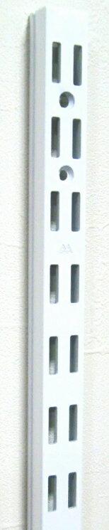 AWF-5 チャンネルサポート ダブルタイプ 1261ミリ〜1461ミリ(50ミリ単位でのカットオーダー品 必ずご希望の長さをお選びください)Aホワイト