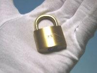 同一キーの南京錠35ミリ(単品)複数個ご購入時に便利!カギの管理も楽々♪メール便可