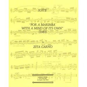 ジート・カルノ : 組曲 独自の心を持ったマリンバのために(マリンバソロ) トライ出版