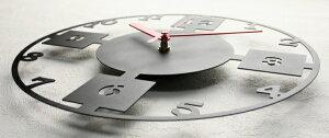 GHOステンレスレーザーカット掛け時計D-05