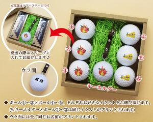 ゴルフボール名入れ箱内容説明