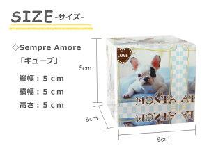 【センプレアモーレ+金箔ゴルフボール】サイズ表