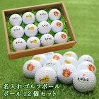 名入れゴルフボール12個セットサムネイル画像
