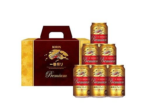(北海道、沖縄、離島地域は除く。配送は佐川急便指定)【ミニビールギフト】「K-PIA・一番搾りプレミアムギフト」(K-PIA)350ml缶×6本セットメーカー:キリンビール(株)