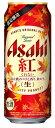 ギフト プレゼント 期間限定 ビール アサヒ 紅 500ml缶 6缶パック 2ケース48本入り アサヒビール 送料無料 増税