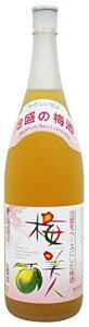 ギフト プレゼント 母の日 家飲み リキュール 梅酒 梅美人 13% 1.8L瓶 1ケース6本入り 瑞穂酒造(沖縄県)