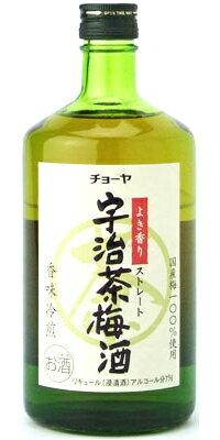 チョーヤ 宇治茶梅酒 720ml瓶和歌山県:チョーヤ梅酒 梅酒 チョーヤ