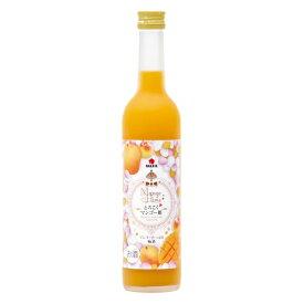 ギフト プレゼント リキュール 梅酒 とろこくマンゴー姫 マンゴーたっぷり梅酒 500ml 4本 和歌山県 中田食品 送料無料
