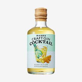 ギフト プレゼント 家飲み 家呑み リキュール ジン ジンジャーとハーブのクラフトジンカクテル 22% 300ml 4本 養命酒製造 送料無料