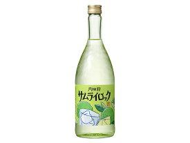 ギフト プレゼント 父の日 家飲み 月桂冠 サムライロック 720ml瓶 1本 京都府 月桂冠