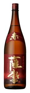 芋焼酎 限定品 25° 赤薩摩 1.8L瓶 2本 鹿児島県 薩摩酒造 送料無料