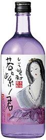 ギフト プレゼント 若紫ノ君 25度しそ焼酎 720ml瓶 4本 宝酒造 ヤマト運輸指定