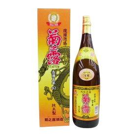 ギフト プレゼント 泡盛 菊之露 古酒 40度 1.8L瓶 2本 沖縄県 菊之露酒造 送料無料 増税