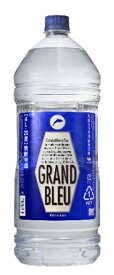 ギフト プレゼント 焼酎 焼酎甲類 グランブルー 20度 4Lペット 1本 合同酒精