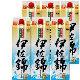焼酎 芋焼酎 伊佐錦パック 25度 1800ml 6本 鹿児島県 大口酒造 1ケース分 白麹 焼酎