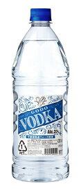 ギフト プレゼント 父の日 家飲み スピリッツ GODO VODKA ゴ—ド— ウォッカ 37度 1.8Lペット 1ケース6本入り 合同酒精