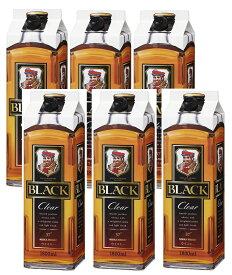 ウィスキー アサヒ ブラックニッカ クリアブレンド 1.8L 紙パック 6本 アサヒビール