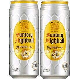 ギフト プレゼント 父の日 家飲み リキュール ハイボール サントリー 角ハイボール 500ml缶 2ケース48本入り サントリー 送料無料