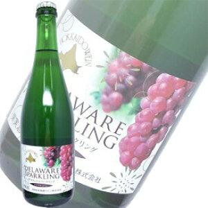 おたるワイン 1回のご注文で12本まで ギフト プレゼント ヤマト運輸 日本のワイン 北海道ワイン おたるデラウェア スパークリング白 720ml 日本・北海道小樽市 甘口