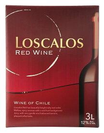ギフト プレゼント 父の日 ヤマト運輸 徳用赤ワイン ロスカロス赤 バッグインボックス3L チリ ミディアムボディ 南アルプスワイン&ビバレッジ
