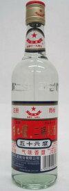 プレゼント ギフト 中国酒 白酒 二鍋頭酒 にかとうしゅ 紅星 500ML 瓶 1本 56° 中国 日和商事