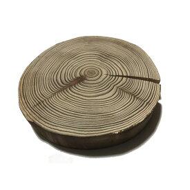 丸太の輪切り 杉 皮付き風 厚さ約3.5cm×直径約19cm