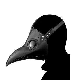 ペストマスク ペスト医師 風 スチームパンク コスプレ用品 ブラック