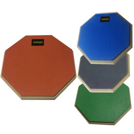 ドラム 練習パッド オレンジ/ブルー/グレー/グリーン 吸音性 持ち運び