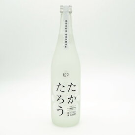 【黒糖焼酎】たかたろう 12度/720ml【オンザロック】【喜界島】