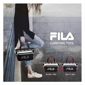 FILA フィラ ミニトートバッグ ラウンドバッグ ゴルフバッグ ミニバッグ サブバッグ カジュアル ゴルフ バッグ 弁当バッグ お散歩バッグ おしゃれ 軽量 おでかけ お買い物 小物収納 メンズ レディース 男女兼用 FL-0012