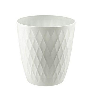 リッチェル キンバリー鉢カバー 10号 ホワイト