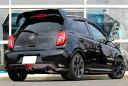 GP SPORTS EXAS EVO Tune マフラー マーチ NISMO S K13改 『JQR認定 新規制適合 車検対応』オールステンレス&チタンスライドテールマ…