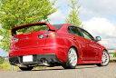 GP SPORTS EXAS EVO Tune マフラー ランサーエボリューションX CZ4A SST車専用『JQR認定 新規制適合 車検対応』オールステンレス&チタ…