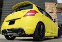 GP SPORTS EXAS EVO Tune マフラー スイフトスポーツ ZC32S 『JQR認定 新規制適合 車検対応』 オールステンレス&チタンスライドテール…