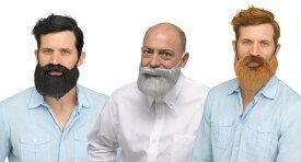 フサフサ付けヒゲ ひげ 髭 付けひげ 面白 ドワーフ 欧米 親父 ダンディ おもしろ 仮装 メンズ ハロウィン コスプレ 衣装 コスチューム 【FUN WORLD】