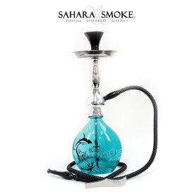 【送料無料】 【即納】 Khanjar サファイア 45cm 水タバコ シーシャ フーカー アロマスモーク 水パイプ ナルギレ shisha