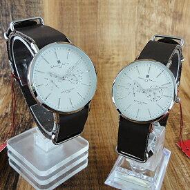 国内正規品 ペア腕時計 ボックス付き サルバトーレマーラ 時計 ペアウォッチ ダークブラウン SM15117-SSWHSV ビジネス 男女 ペアセット 誕生日 お祝い プレゼント ギフト お洒落