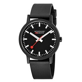 【キャッシュレス5%還元】国内正規品 モンディーン 時計 メンズ 腕時計 essence ブラック MS1.41120.RB ビジネス 男性 ブランド 時計 誕生日 お祝い プレゼント ギフト