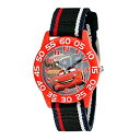 ディズニー キッズ 男の子 子供用 腕時計 Cars カーズ 柔らかいナイロンベルト W001954 入学 入園 小学1年生 アニメ …