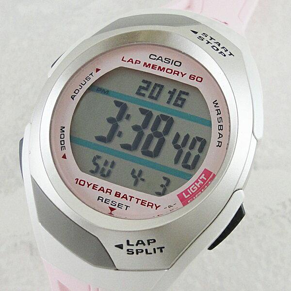 国内正規品 カシオ 時計 メンズ レディース 腕時計 フィズ ランニング ライトピンク STR-300J-4JF スポーツ ユニセックス ブランド 誕生日 お祝い クリスマスプレゼント ギフト お洒落