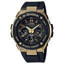 カシオ 時計 メンズ 腕時計 Gショック G-SHOCK ジーショック G-STEEL Gスチール アナデジ タフソーラー 多機能 ブラック×ゴールド 20気圧防水 GST-S300G-1A9 ビジネ