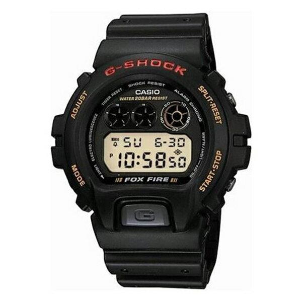 CASIO G-SHOCK Gショック ジーショック カシオ 腕時計 デジタル ブラック 20気圧防水 海外モデル DW-6900G-1V ビジネス 男性 ブランド 誕生日 お祝い プレゼント ギフト お洒落