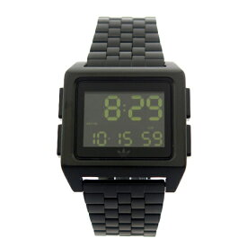 Adidas アディダス 時計 メンズ レディース 腕時計 アーカイブ ブラック 黒 デジタル CJ6306 ビジネス 男性 女性 ユニセックス ペアにおすすめ ブランド 【仕事用】 誕生日 お祝い プレゼント ギフト お洒落