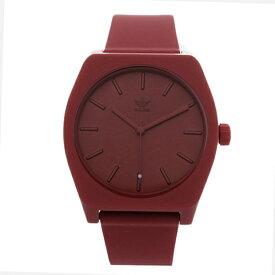 Adidas アディダス 時計 メンズ レディース 腕時計 男女兼用 プロセス お洒落 ボルドー 柔らかいベルト CJ6358 ビジネス 男性 女性 ユニセックス ペアにおすすめ ブランド 【仕事用】 誕生日 お祝い プレゼント ギフト お洒落