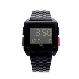 Adidas アディダス 時計 メンズ レディース 腕時計 男女兼用 男女兼用 アーカイブ ブラック 黒 デジタル CK3105 ビジネス 男性 女性 ユニセックス ペアにおすすめ ブランド 【仕事用】 誕生日 お祝い プレゼント ギフト お洒落