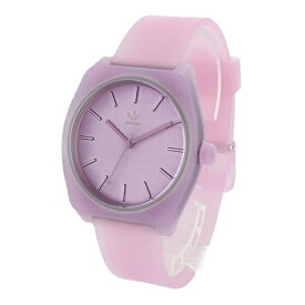 Adidas アディダス 腕時計 メンズ レディース 男女兼用 プロセス クリアピンク やわらかいラバー ペアにもおすすめ CK3112 (Z10-3047-00)