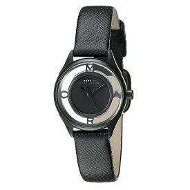 問屋さん決算価格 在庫処分 無料特典付き! マークジェイコブス 時計 レディース 腕時計 ティザー 25ミリ ブラック レザー ブラックケース MBM1384 ブランド 女性 【仕事用】 誕生日 お祝い プレゼント ギフト お洒落