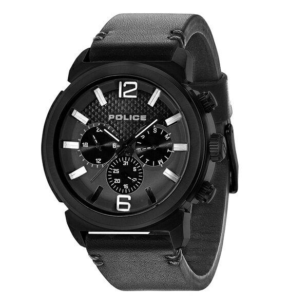 ポリス 時計 メンズ 腕時計 コンセプト マルチファンクション ブラック レザー PL14377JSB-02A ビジネス 男性 ブランド 時計 誕生日 お祝い クリスマスプレゼント ギフト お洒落