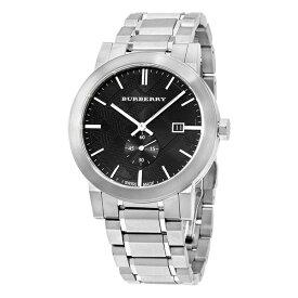 バーバリー 時計 メンズ 腕時計 ダークグレー文字盤 シルバー ステンレス BU9901 ビジネス 男性 ブランド 誕生日 お祝い プレゼント ギフト