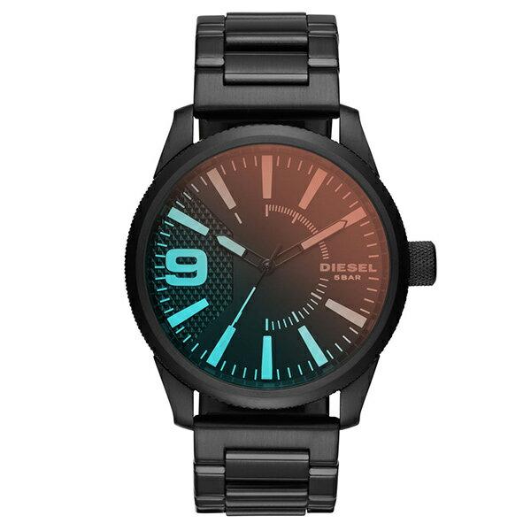 ディーゼル 時計 メンズ 腕時計 ラスプ ブラック ステンレス DZ1844 ビジネス 男性 ブランド 【仕事用】 誕生日 お祝い クリスマスプレゼント ギフト お洒落